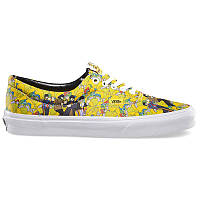 Мужские кеды Vans Authentic The Beatles желтые р.41 Акция -37%!