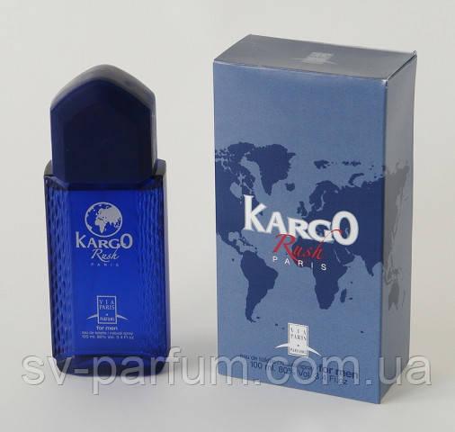 Туалетная вода мужская Kargo Rush 100ml