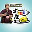 Профессиональный краскопульт TOTAL PAINTER   распылитель краски 900W   аэрограф, фото 4