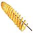 Машинка для спиральной нарезки картофеля Spiral Potato Slicer | картофелерезка | овощерезка | мультирезка, фото 8