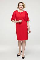 Платье  Яна красный, фото 1