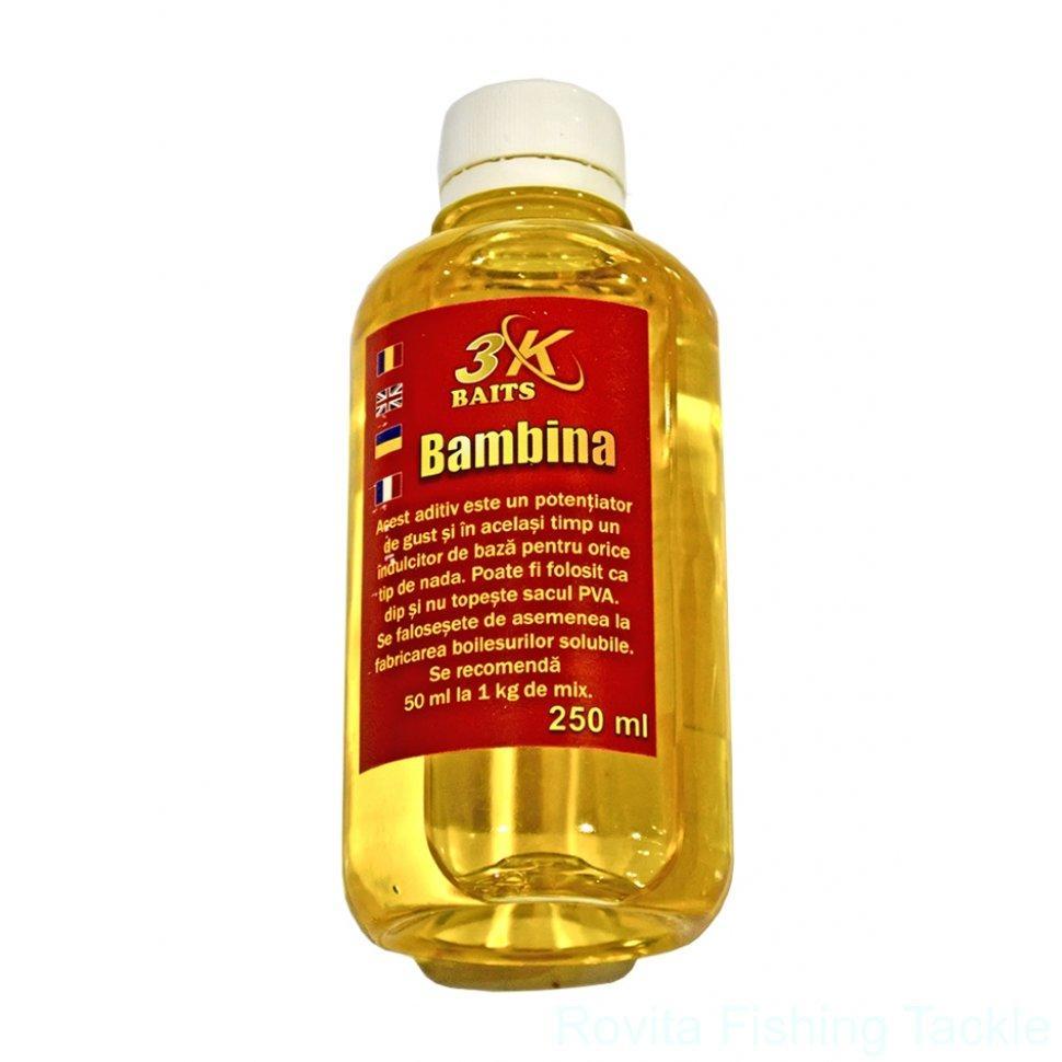 Аттрактант 3-K Baits Bambina Porumb Dulce (сладкая кукуруза) 250мл
