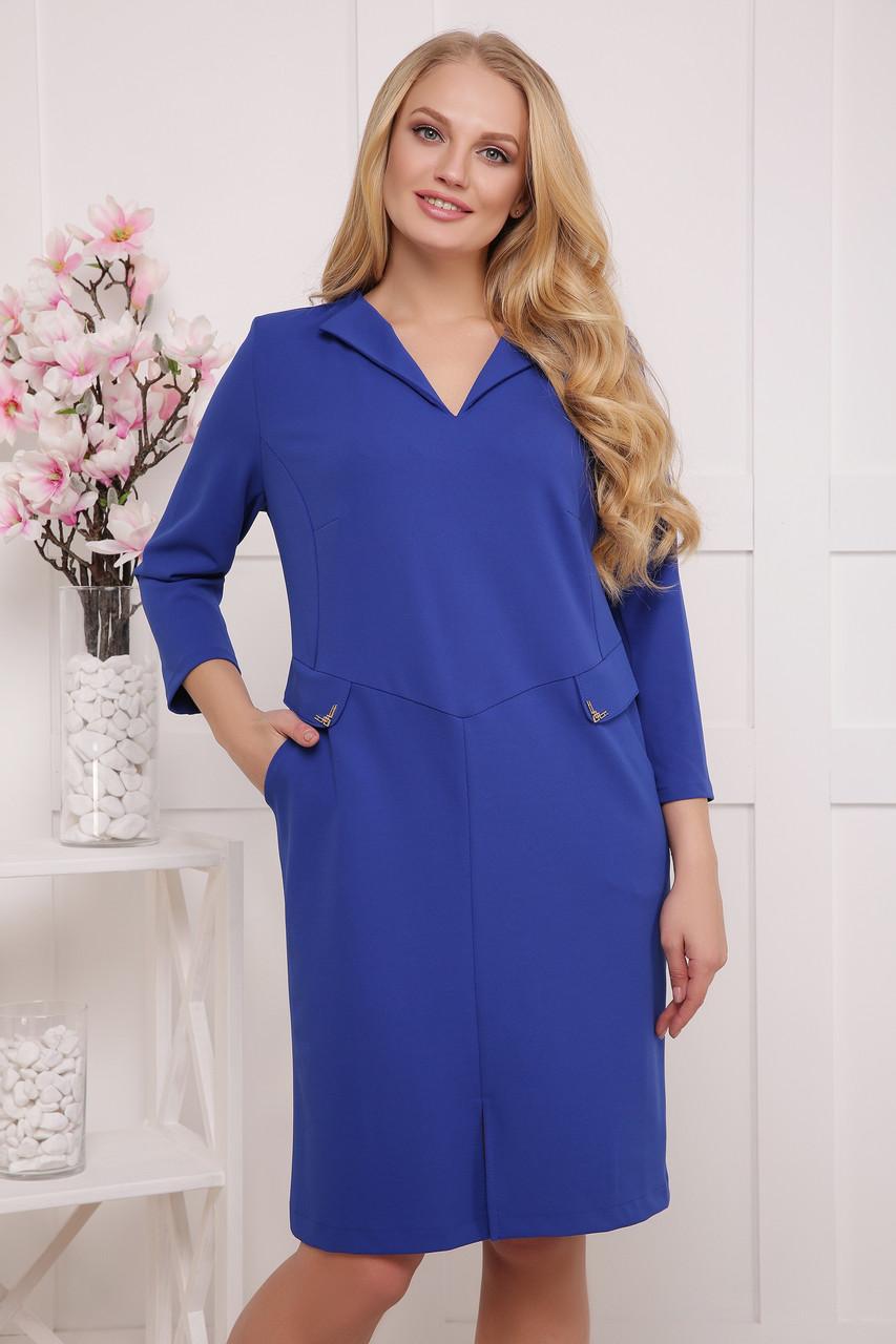 Платье  Ника ультрамарин