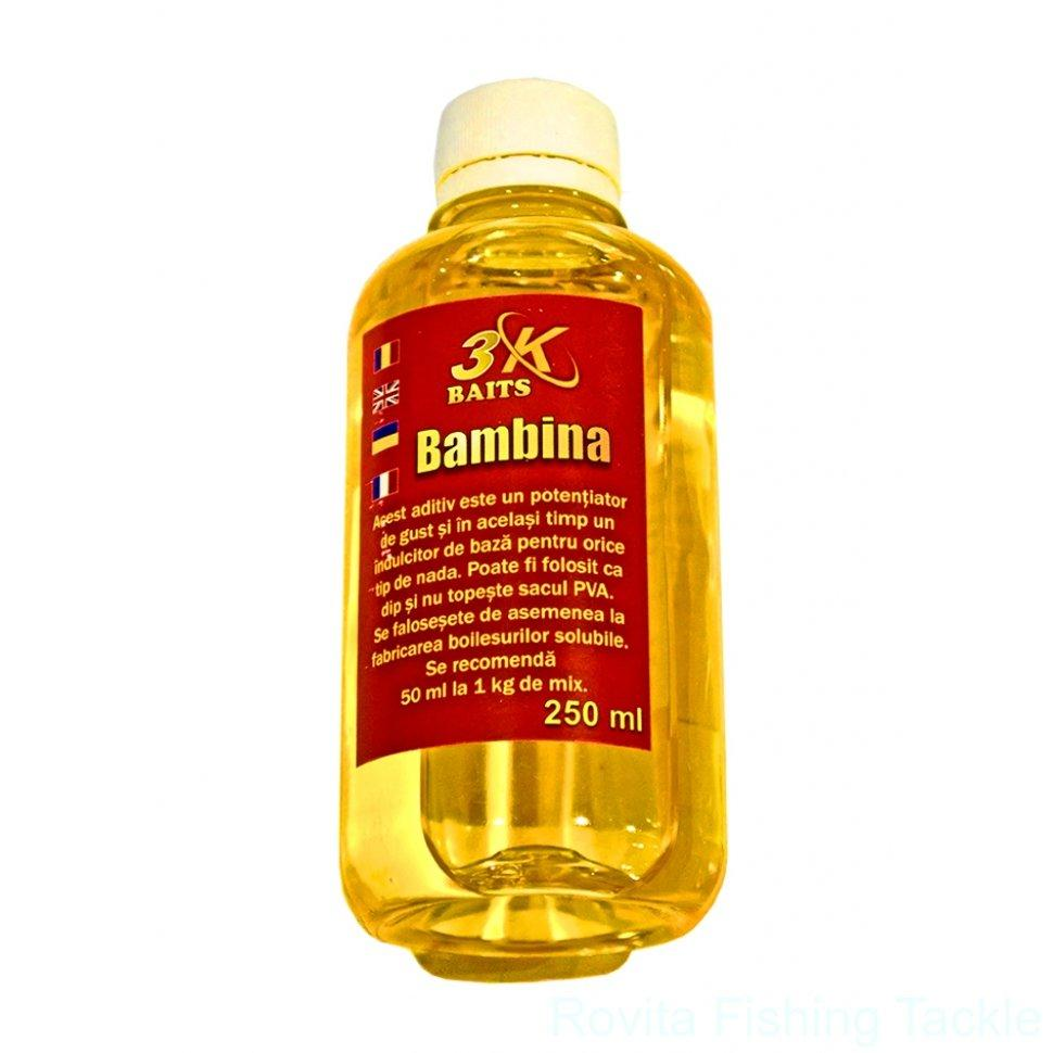 Аттрактант 3-K Baits Bambina Vanilie (ваниль) 250мл