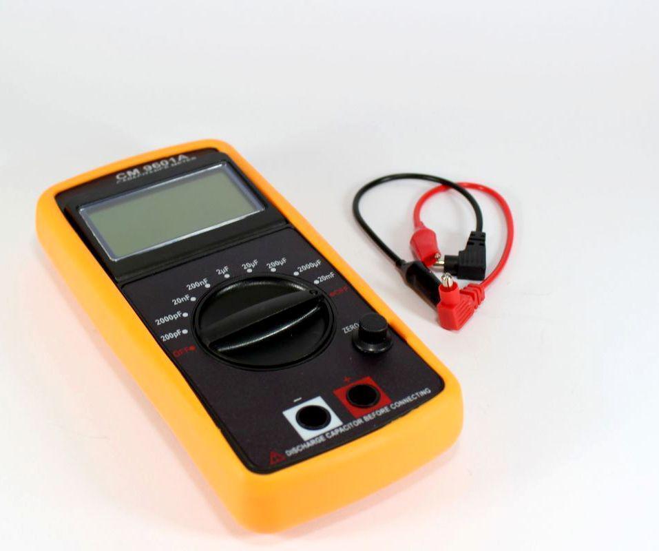 Высокочувуствительный универсальный портативный мультиметр DT CM 9601 | цифровой измеритель емкости