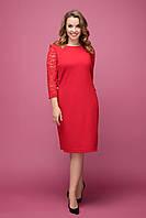 Платье  Джулия красный, фото 1