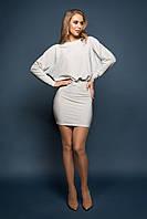 Платье  Милена серебристый, фото 1