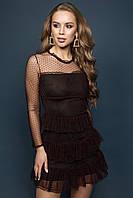 Платье  Мирей черный, фото 1