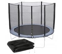 Защитная сетка 12 фт 366-374 см, 6 столбиков, внешняя