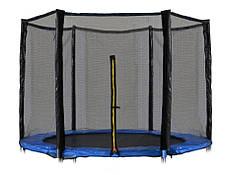 Защитная сетка 12 фт 366-374 см, 6 столбиков, внешняя, фото 3
