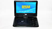 """Портативный    DVD плеер Opera  9,8""""+ аккумулятор +TV тюнер+ USB"""