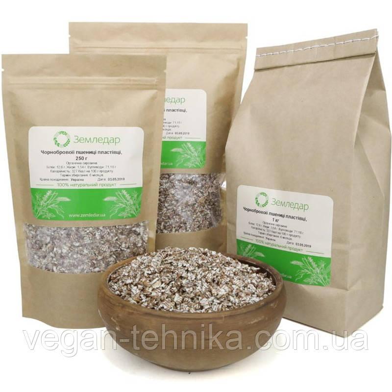 Пластівці чорнобривою пшениці / Чорнобрвої пластівці пшениці