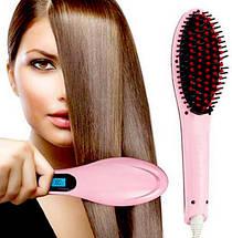 Електрична гребінець-випрямляч Fast Hair Straightener HQT-906