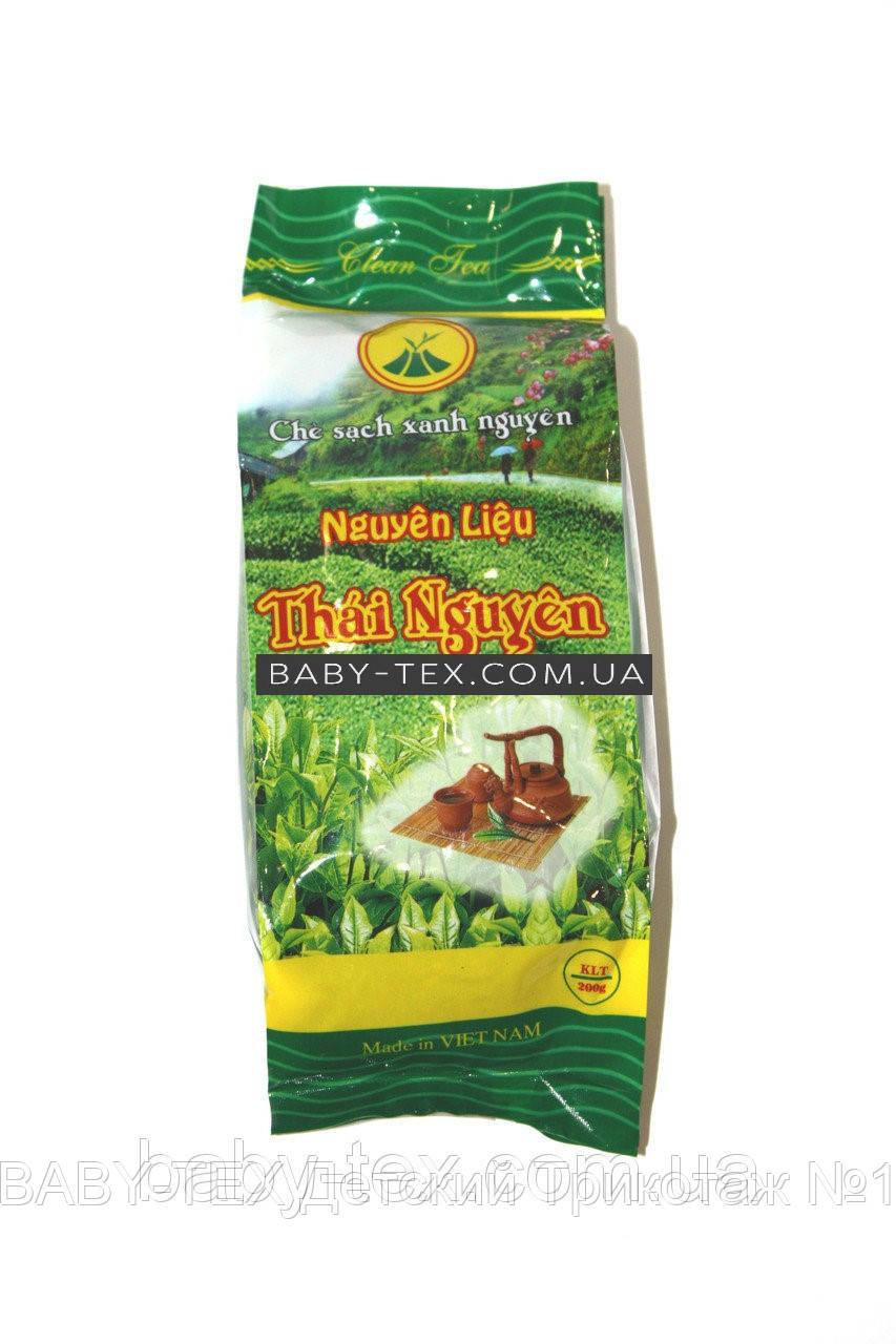 Вьетнамский Зеленый чай Nguen LIEU Thai Nguyen 200г