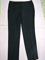 Брюки женские классические, прямые, для уверенной в себе женщине, темно-синие (р-р.52) код 4694М