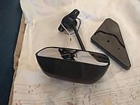 Зеркала боковые f1 с поворотом чёрные пара, фото 1