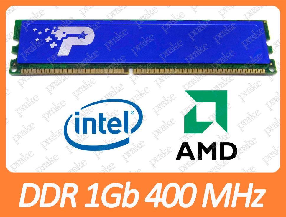 DDR1 1Gb 400Мгц PC-3200) CL3 Patriot PSD2G400KH