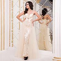 """Шикарне весільне, вечірнє, випускне плаття, плаття на розписку """"Еллі"""", фото 1"""