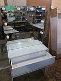 Стіл для гриму з захисним склом на стільниці А209, фото 3