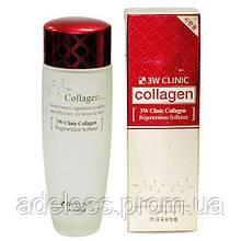 Антивозрастной тонер с коллагеном 3W Clinic Collagen Regeneration Softener, 150 мл