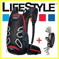 Стильный городской вело рюкзак Anmeilu 15 литров + Подарок Мультитул