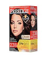 Краска для волос 238 темный золотисто-коричневый, 115 мл, Prestige