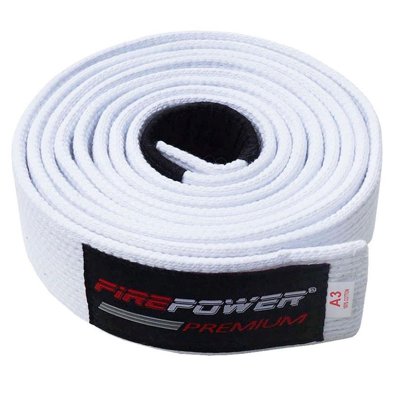 Пояс BJJ Firepower Premium Белый