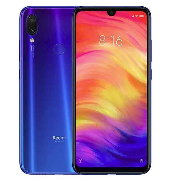 Xiaomi Redmi Note 7 6Gb/64Gb Blue Гарантия 1 Год