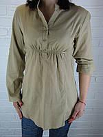 Рубашка женская D 8012 горчичная