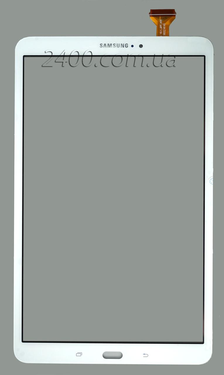 Сенсор, тачскрин для Samsung Galaxy Tab A 10.1 T580, T585 белый