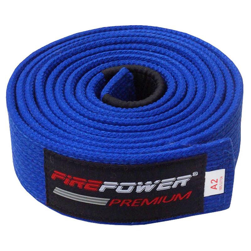 Пояс BJJ Firepower Premium Синий