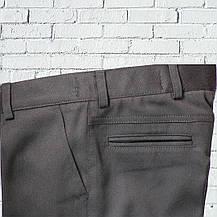 """Школьный костюм для мальчика """"Бруклин"""" (116-176)  укороченный черный, фото 3"""