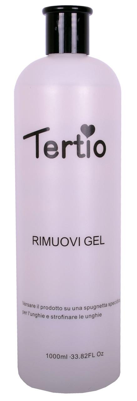 Рідина для видалення гель-лака Rimuovi Gel 1000 мл Tertio