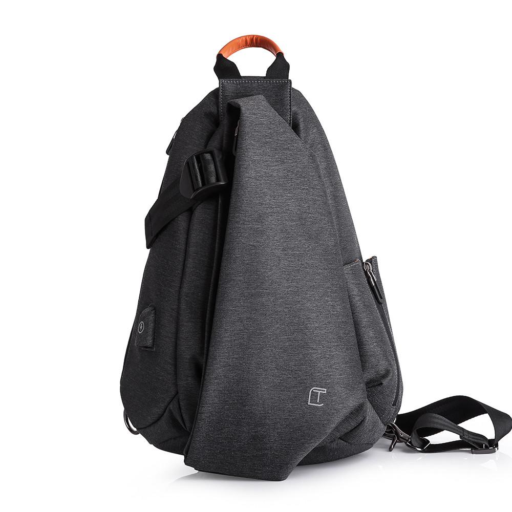 Tangcool TC901usb 20-35L Оксфорд Ткань Грудь пакет Сумка Досуг Водонепроницаемы Велоспорт небольшой рюкзак