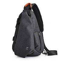 Tangcool TC901usb 20-35L Оксфорд Ткань Грудь пакет Сумка Досуг Водонепроницаемы Велоспорт небольшой рюкзак , фото 4