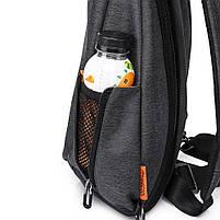 Tangcool TC901usb 20-35L Оксфорд Ткань Грудь пакет Сумка Досуг Водонепроницаемы Велоспорт небольшой рюкзак , фото 5