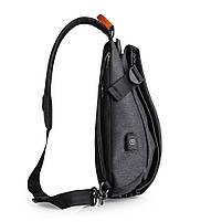Tangcool TC901usb 20-35L Оксфорд Ткань Грудь пакет Сумка Досуг Водонепроницаемы Велоспорт небольшой рюкзак , фото 6