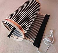 Інфрачервоний килимок-обігрівач 100х300 (обігрівач для курчат, обігрівач для поросят, кроликів) 600Вт, фото 1