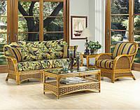 Комплект мягкой мебели Пеликан из натурального ротанга
