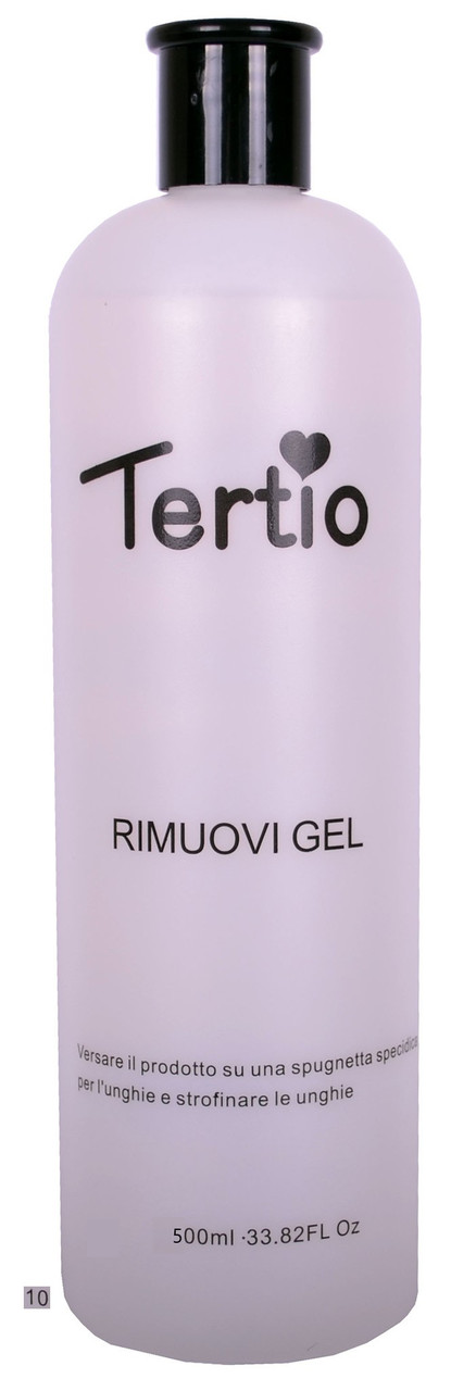 Рідина для видалення гель-лаку Rimuovi Gel 500 мл Tertio