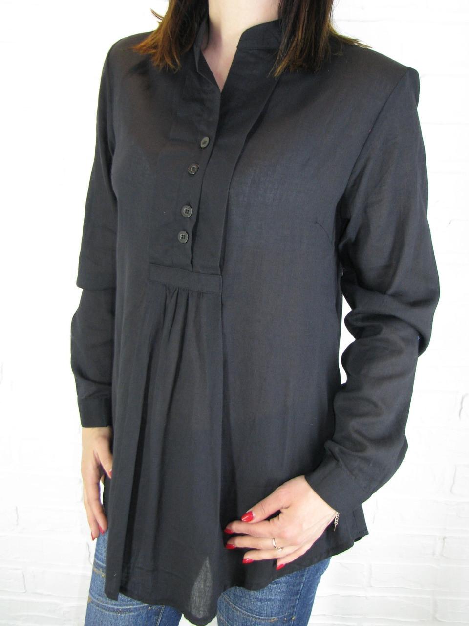 Рубашка женская D 8014 черная