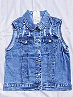 Жилетка джинсовая 7156