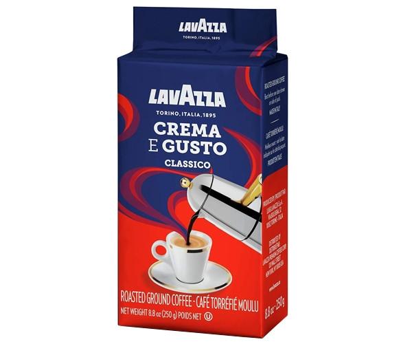 Кофе Lavazza Crema e gusto Classico молотый 250 г