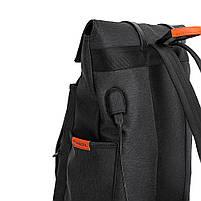 Молодежный городской рюкзак Tangcool TC5698 USB для прогулок по городу, учебы и путешествий., фото 7