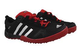 Кроссовки Adidas сетка, цвет черный