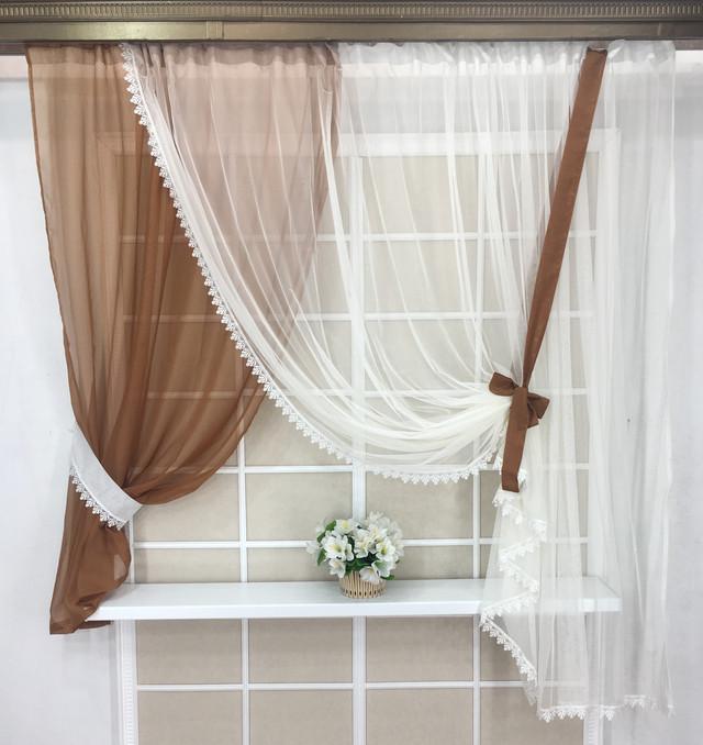 Готовые шторы в кухню недорого, кухонные шторки,  Джабо, Резетка, Альбо, Мир штор, готовые шторы, готовые шторы в комнату