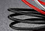 Магнитная зарядка кабель шнур с LED Micro USB Type-C, Lightning Iphone 1 - 2 метра, фото 3