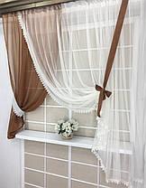 """Кухонные шторы """"Гайя"""" Какао, фото 2"""