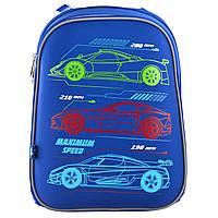 Рюкзак школьный каркасный 1 Вересня Maximum Speed, фото 1