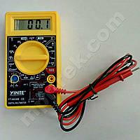 Цифровой мультиметр YINTE YT-0830B (1000В, 200мА, 10А, 2МОм, hFE)